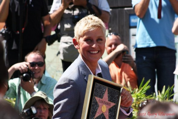 Ellen Degeneres Walk of Fame Star