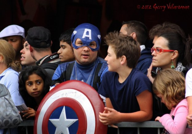 Fat Captain America