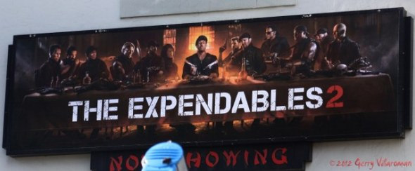 The Expendables 2 Billboard