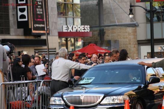 Dolph Lundgren's Arrival