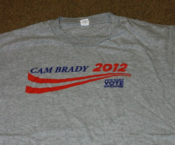 Vote for Cam Brady T-Shirt