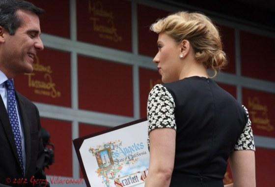 Scarlett Johansson Day in Hollywood