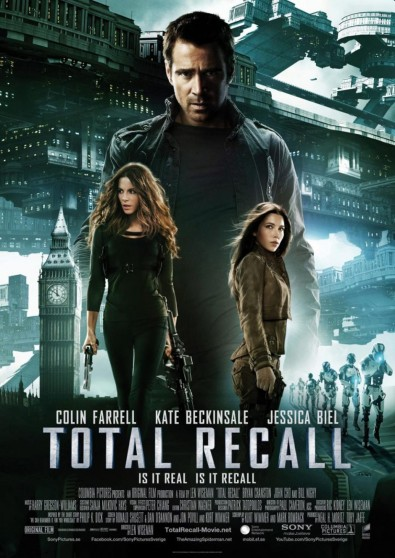 Total Recall 2012 Movie Poster