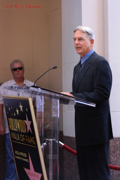 Mark Harmon Walk of Fame