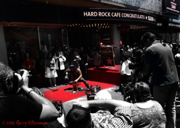 Slash Walk of Fame Induction
