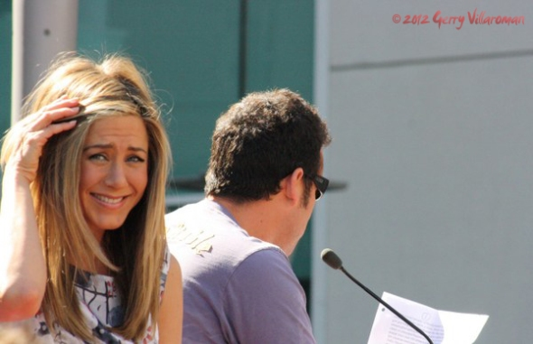 Jennifer Aniston & Adam Sandler
