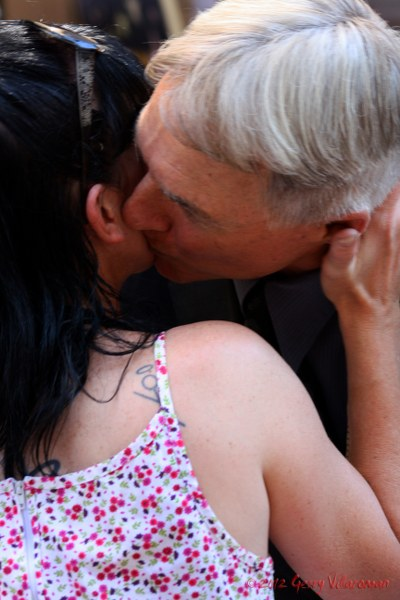Pauley Perrette & Mark Harmon