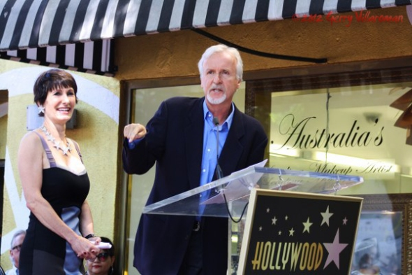 Gale Anne Hurd & James Cameron