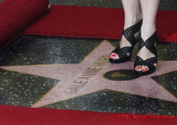 Gale Anne Hurd Walk of Fame Star