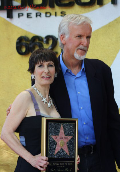 Gale Anne Hurnd & James Cameron