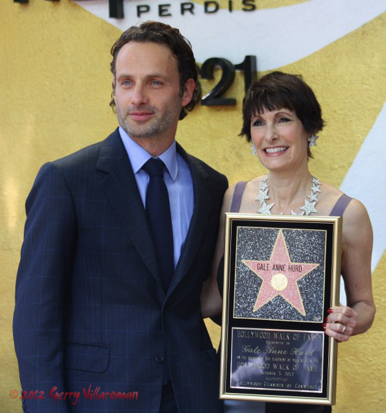 Gale Anne Hurd & Andrew Lincoln