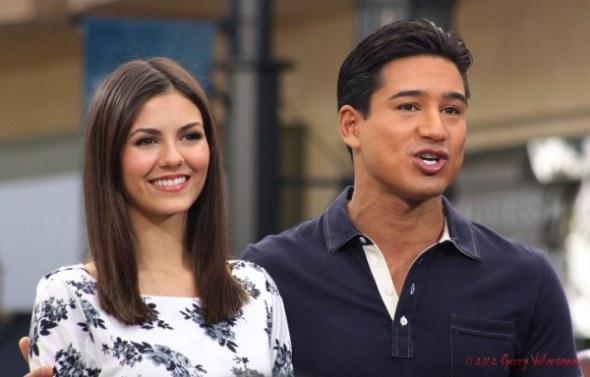 Victoria Justice & Mario Lopez