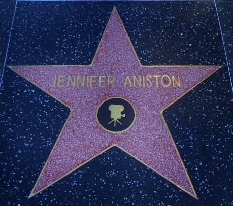 Jennifer Aniston Walk of Fame Star