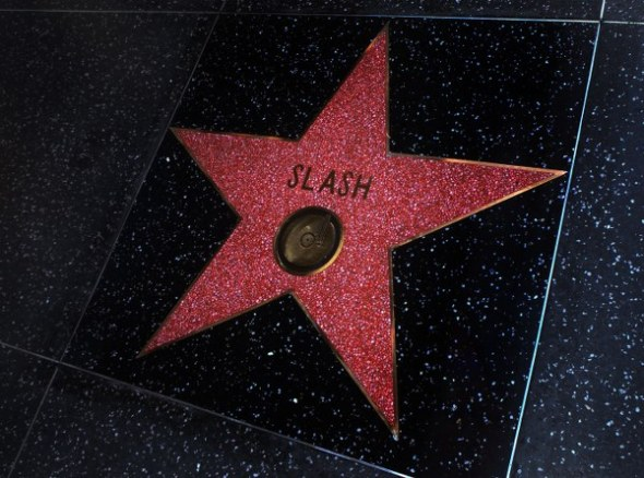 Slash Walk of Fame Star