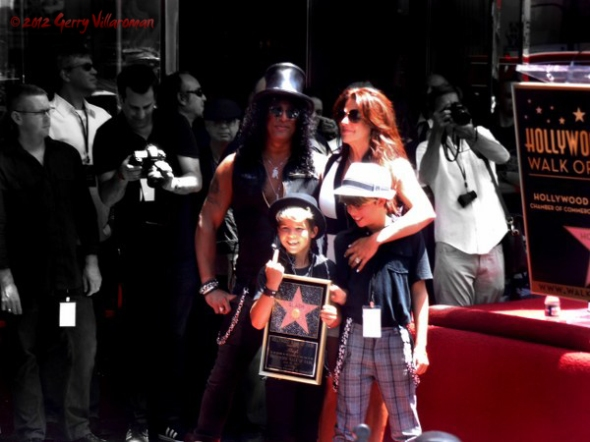 Slash, Perla Ferrar, Children