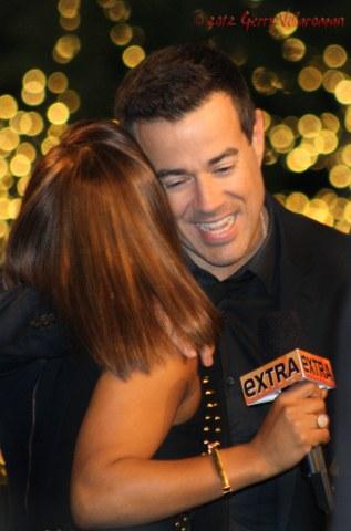 Carson Daly & Cristina Milian