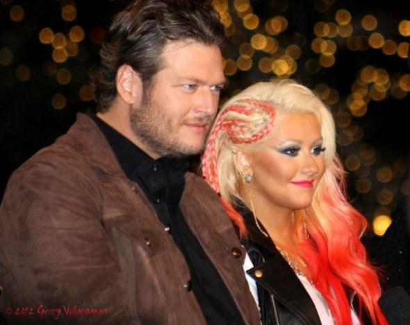 Blake Shelton & Christina Aguilera