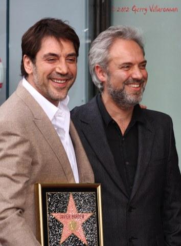 Javier Bardem & Sam Mendes