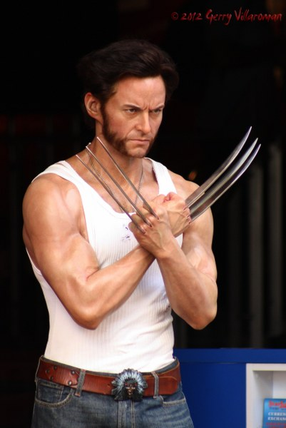 Wolverine Wax Figure