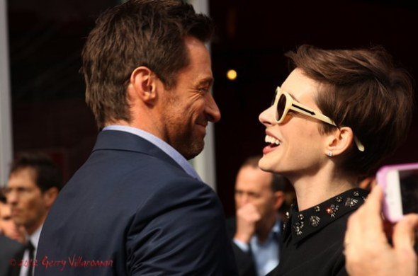 Hugh Jackman & Anne Hathayway