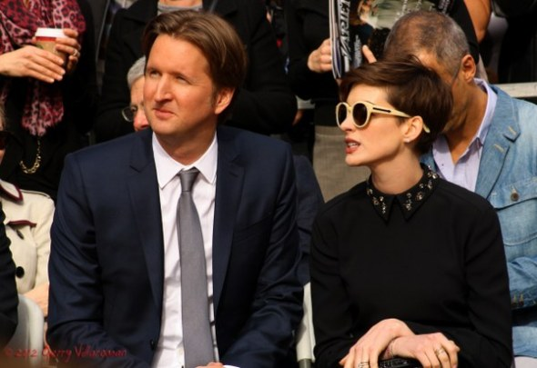 Tom Hooper & Anne Hathaway