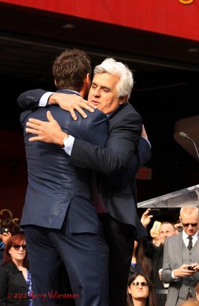 Hugh Jackman & Jay Leno