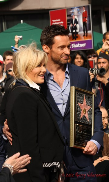 Deborra-Lee Furness & Hugh Jackman