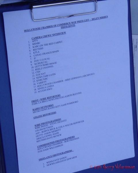 Press List