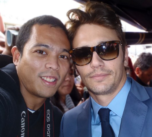 Me and James Franco