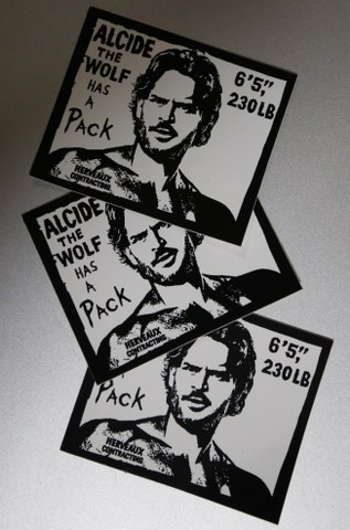 Alcide the Wolf Stickers
