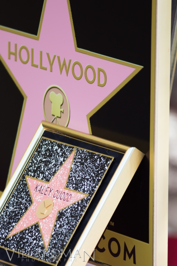Kaley Cuoco Walk of Fame Plaque
