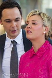Jim Parsons, Kaley Cuoco