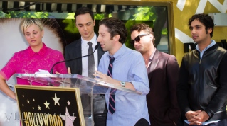 Kaley Cuoco, Jim Parsons, Simon Helberg, Johnny Galecki