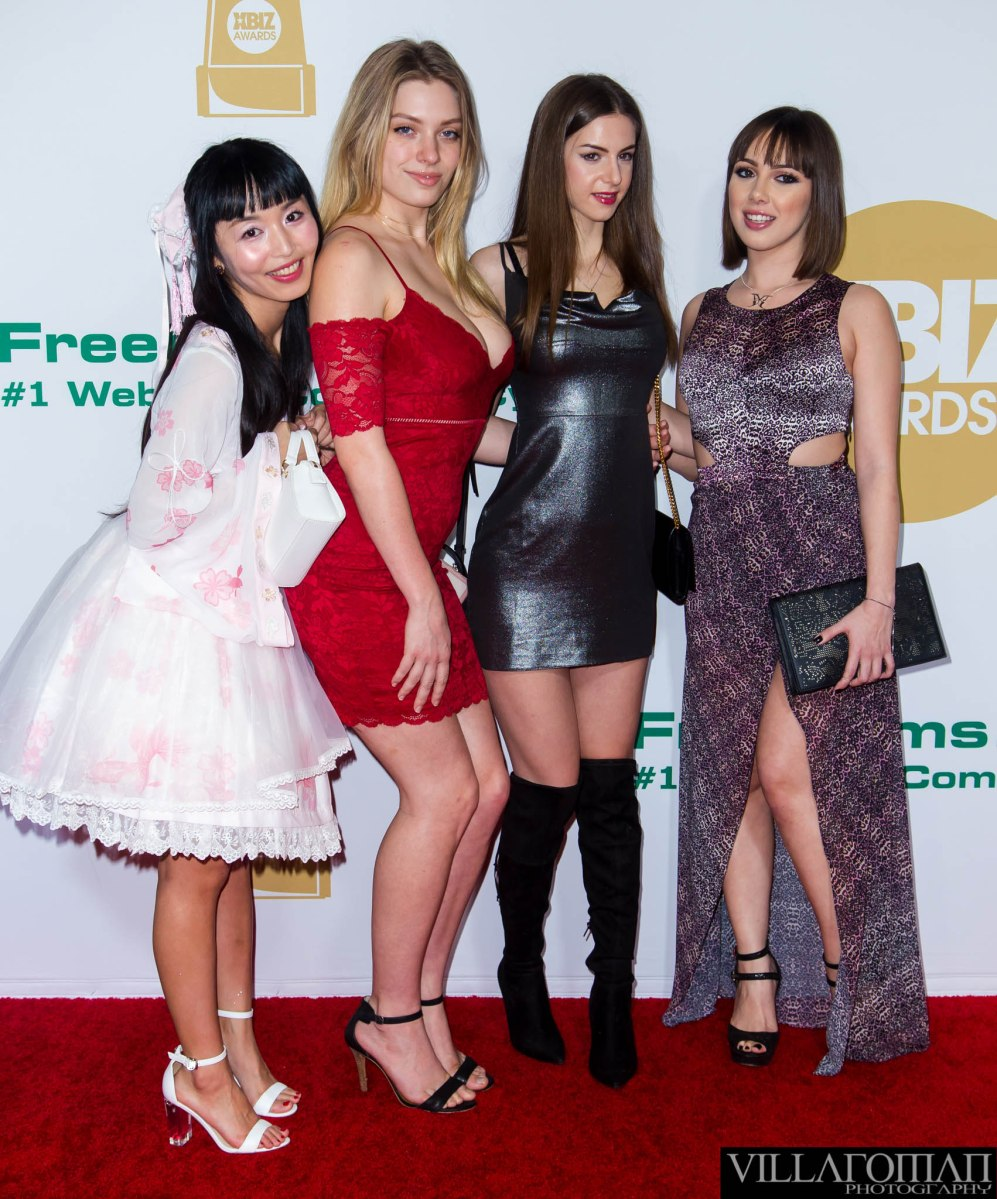 XBIZ Awards 2018 Red carpet Arrivals
